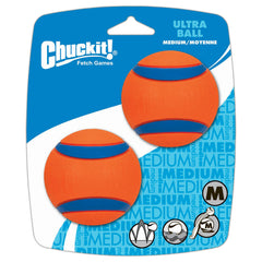 Chuck It Ultra Ball Medium 2 pack