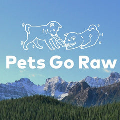 Pets Go Raw Lamb Full Meal - 2 lb pack in 1/4 lb portions