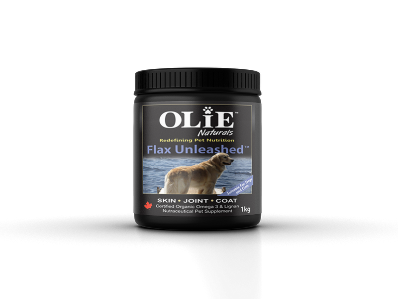 Olie Naturals Flax Unleashed for Dogs