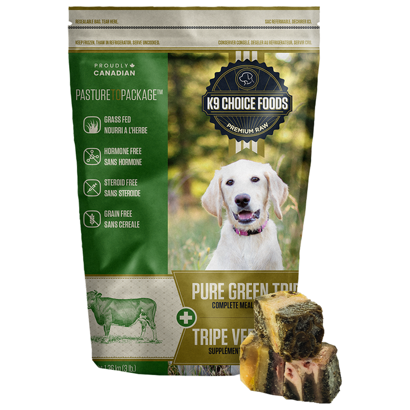 K9 Choice Pure Green Tripe mini cubes