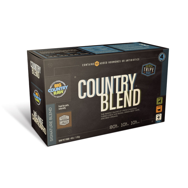 BCR Country Blend 4 lbs. carton