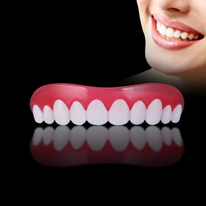 False Tooth Stickers Simulation Teeth Whitening Dentures Paste & Veneers - Mimosa Crafts