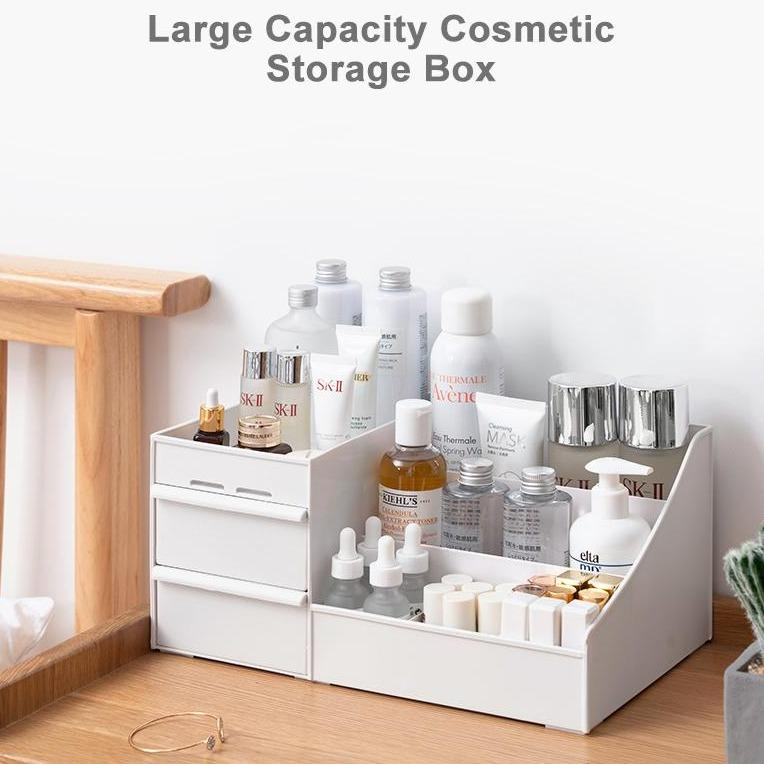 Large Capacity Cosmetic Storage Makeup Drawer Box - Mimosa Crafts