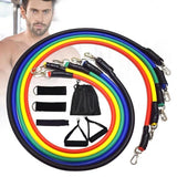 11 Pcs Elastic Resistance Bands Set for Exercise