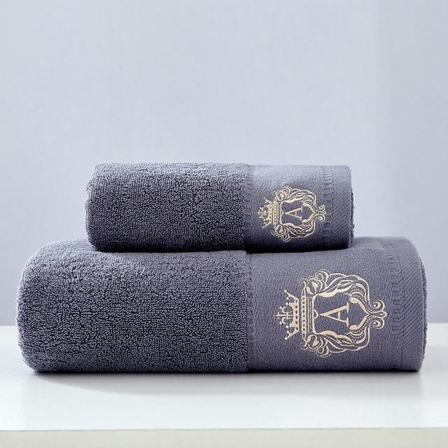 3pack High-grade 100% Organic Cotton Soft Towel Set