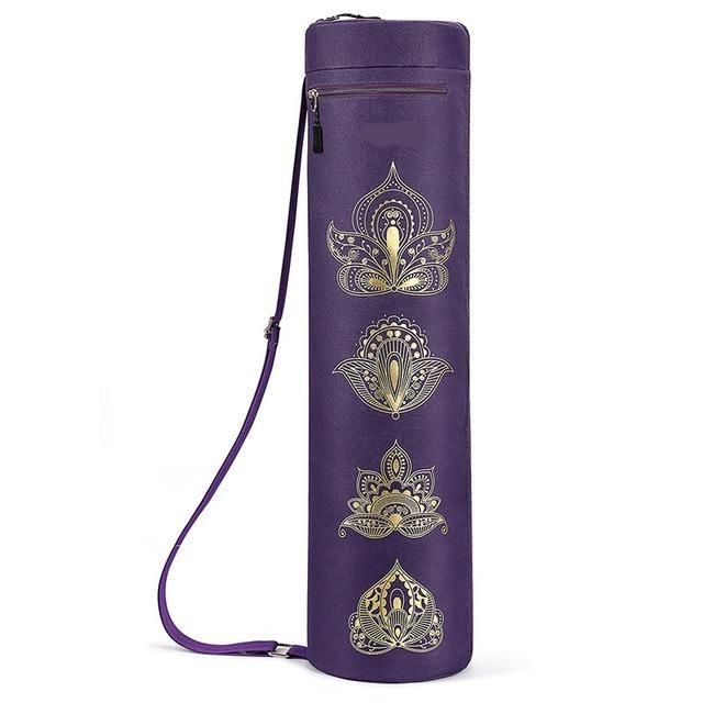 Yoga Mat Carry Bag with Adjustable Shoulder Strap - Mimosa Crafts