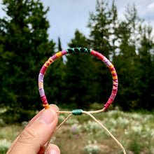 "Load image into Gallery viewer, ""After the Storm"" Cotton Wanderlust Bracelet"