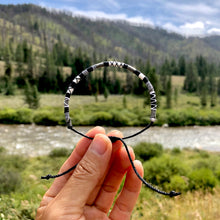 "Load image into Gallery viewer, ""Before Sunrise"" Cotton Wanderlust Bracelet"