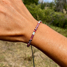 "Load image into Gallery viewer, ""Good Morning"" Cotton Wanderlust Bracelet"