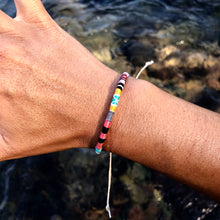 "Load image into Gallery viewer, ""Daydream"" Cotton Wanderlust Bracelet"