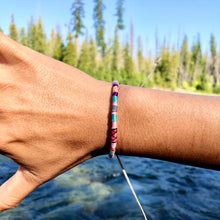 "Load image into Gallery viewer, ""Dream Maker"" Cotton Wanderlust Bracelet"