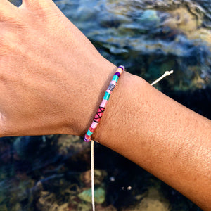 """Dream Maker"" Cotton Wanderlust Bracelet"