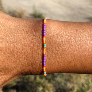 """Free as a Bird"" Seed Bead Spirit Bracelet"