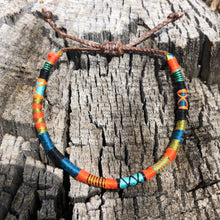 "Load image into Gallery viewer, ""Alpenglow"" Cotton Wanderlust Bracelet"