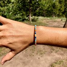 "Load image into Gallery viewer, ""Medicine Bow"" Cotton Wanderlust Bracelet"