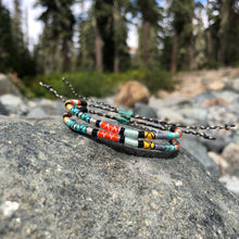 "Load image into Gallery viewer, ""Firestarter"" Cotton Wanderlust Bracelet"