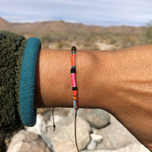 "Load image into Gallery viewer, ""I Own my Voice"" Fiber Threads with Merino Wool Wanderlust Bracelet"