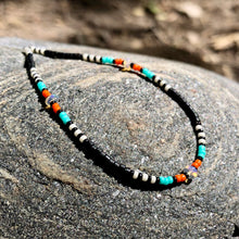 "Load image into Gallery viewer, ""Nomad"" Ethiopian Opal, Seed Bead Spirit Bracelet or Anklet"