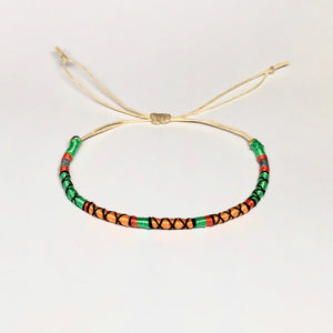 """Desert Dream"" Cotton Wanderlust Bracelet"