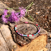 "Load image into Gallery viewer, ""Fly"" Cotton Wanderlust Bracelet"