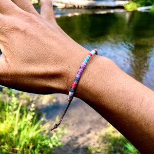 """Fly"" Cotton Wanderlust Bracelet"