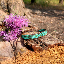 "Load image into Gallery viewer, ""Bravery"" Turquoise Stone Dream Bracelet"