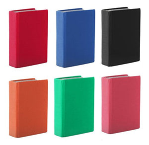 Kittrich Corp Promarx® Jumbo Stretchable Book Cover, Assorted 6 Pack