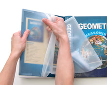 Load image into Gallery viewer, Kittrich Corp Promarx® Jumbo Stretchable Silicone See-Through Book Cover