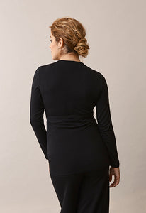 Giselle Wickel-Shirt black