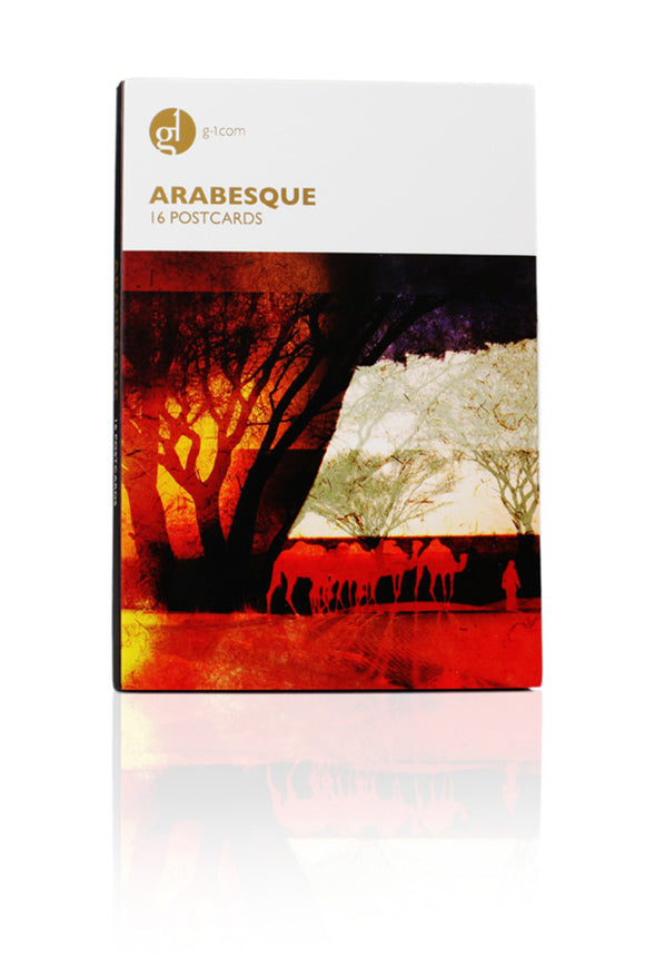 16 Post Card Pack Arabesque