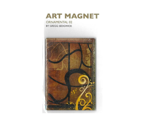 Art Magnet - 1 Ornamental 2