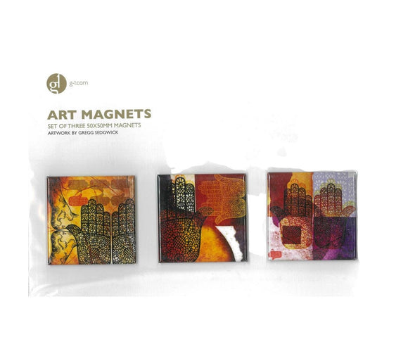 Art Magnet-3 Arabic Hands Pattern