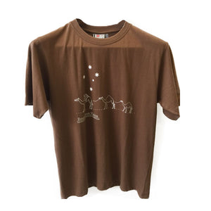 Boundless Plains Brown Camel T-Shirt