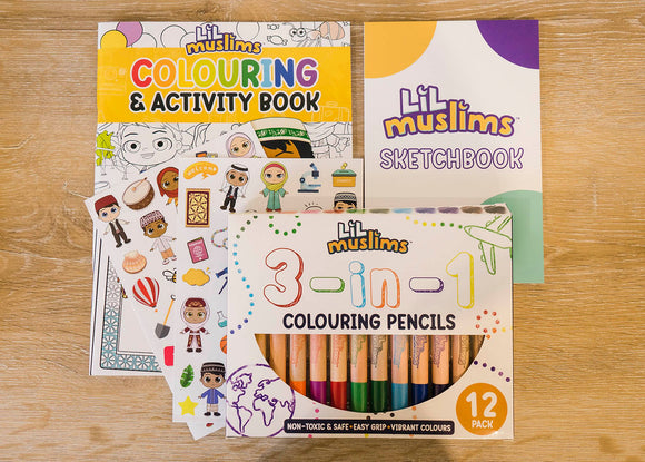 Lil Muslims Colouring Set