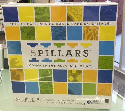 5 Pillars Board Game ( 750 Question Board Game )