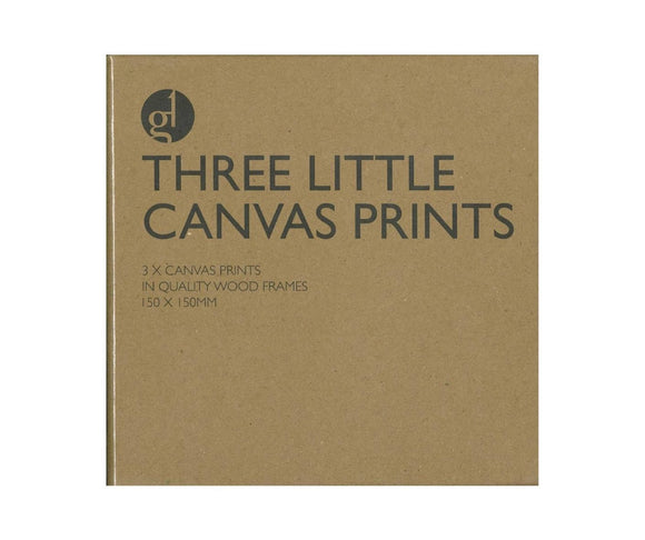 Three Little Canvas Prints - Middle Eastern Mosaics