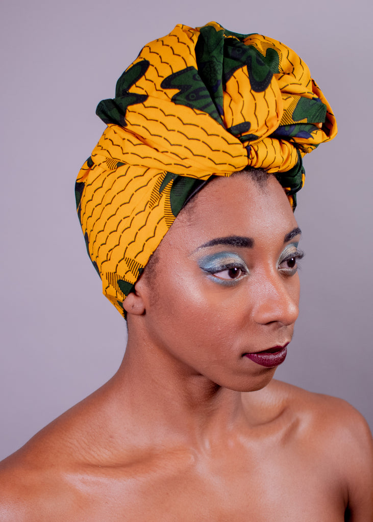 Nell | Satin-Lined Headwrap