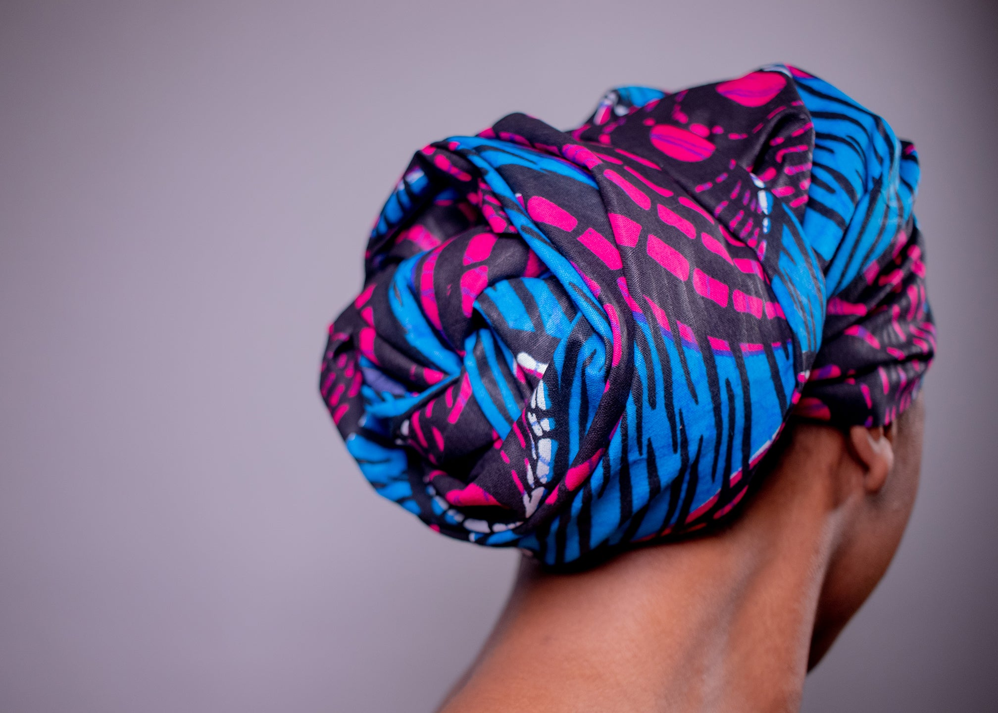 Shellie | Satin-Lined Headwrap