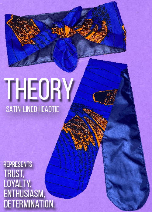 """Theory"" Satin-lined Headtie"