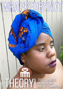 """Theory"" Satin Headwrap"