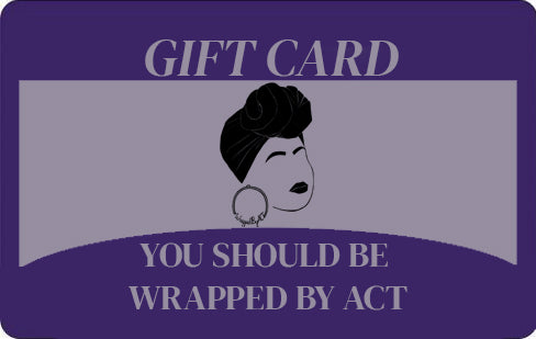 Wrapped Gift Card