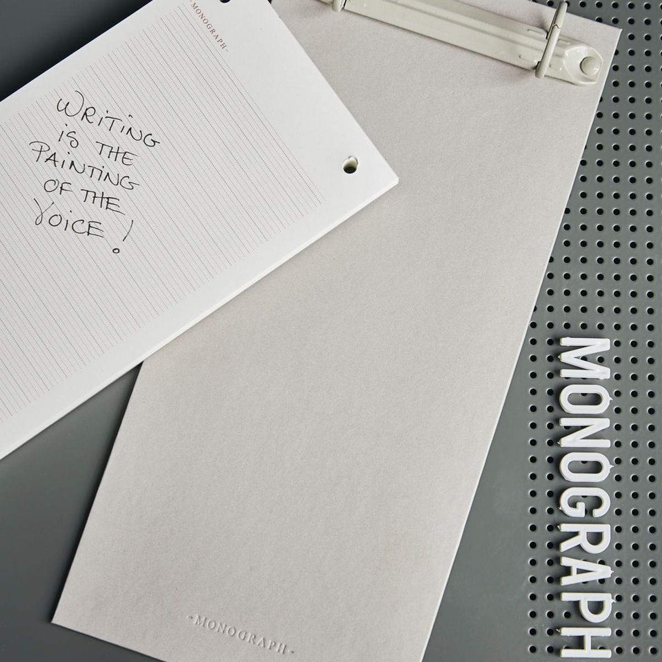 Monograph Accessori Clipboard Long