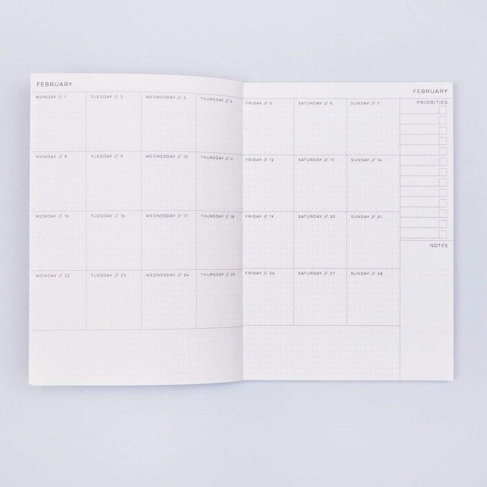 The Completist Bullet journal e agende Agenda 2021 Miami