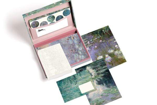Pepin Press Carte da lettere Box carta da lettere - Monet