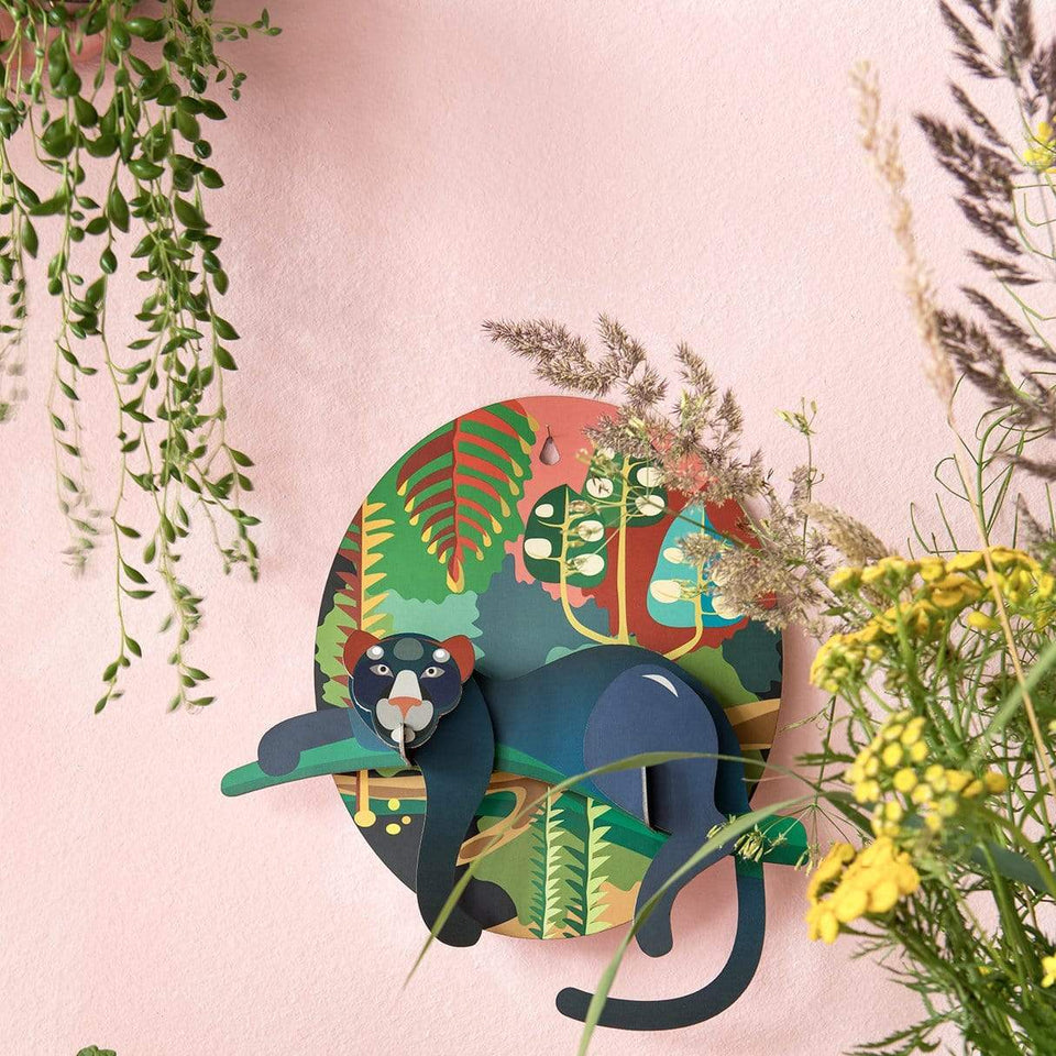 Studio Roof Decorazione parete Jungle Puma