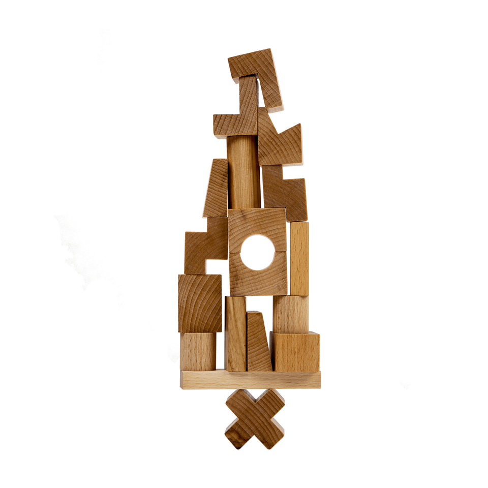 Wooden Story Giochi in legno Stacking Tower in legno