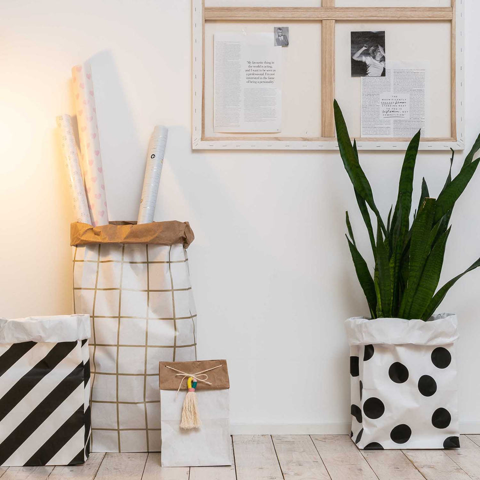 Rico Design Home e accessori Cesto di carta Black XL