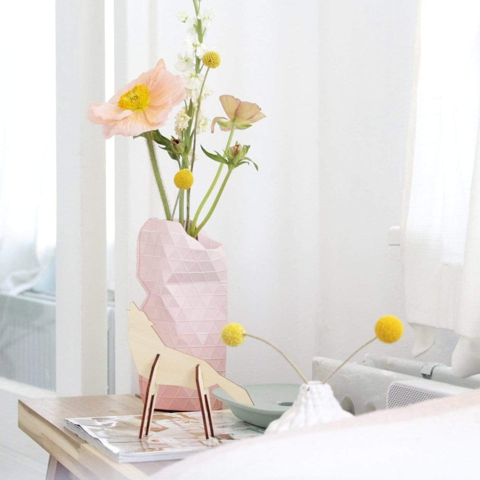 Tiny Miracles Home e accessori Coprivaso in carta Pink Tones - Mini