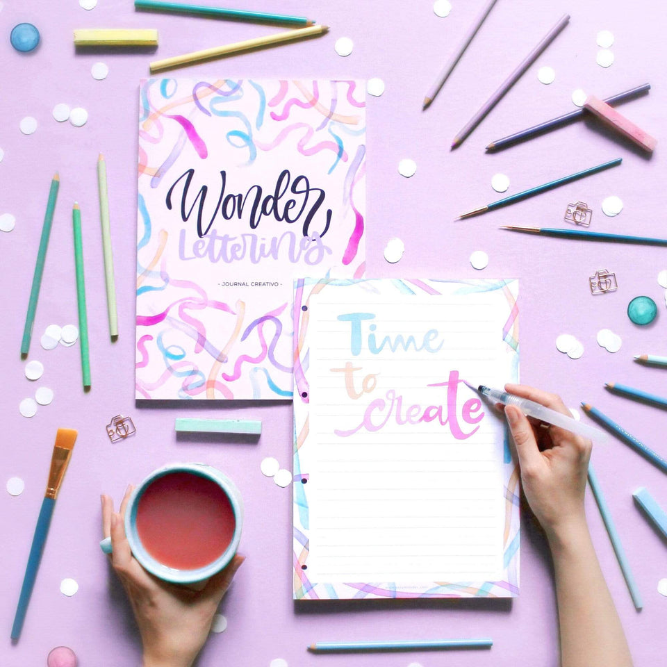 Very Wonder Notes Blocco note Lettersnotes