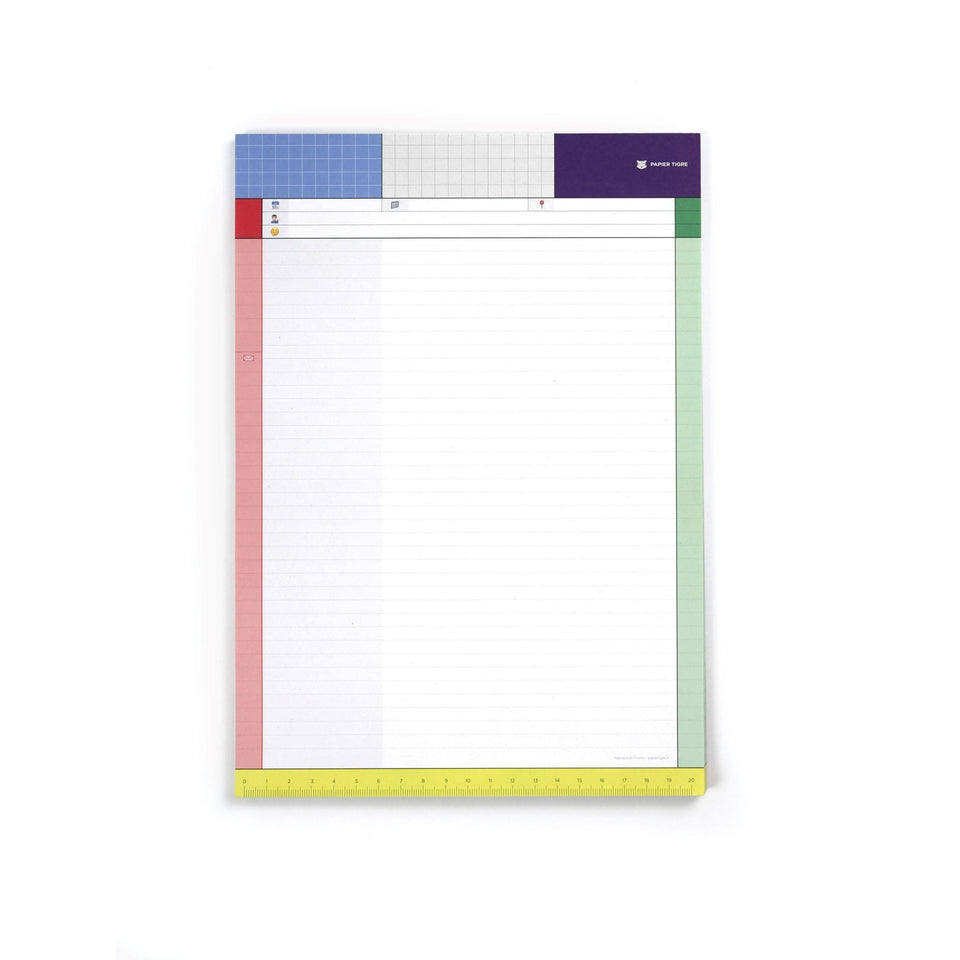Papier Tigre Notes Blocco note Module
